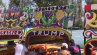 Caravana en México pide votar por Trump