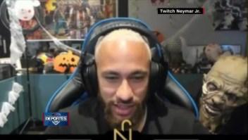 El susto de Neymar en Halloween