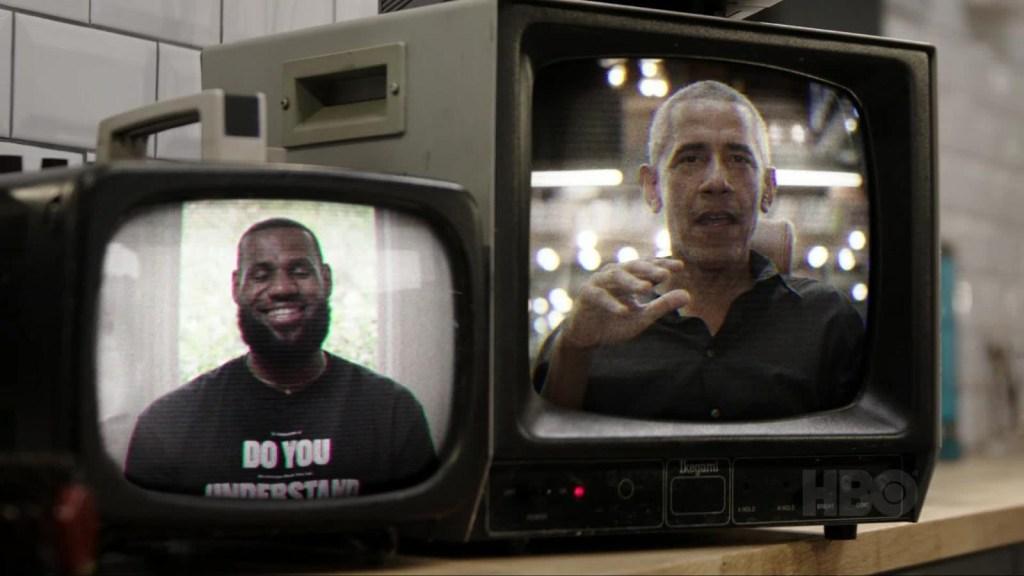 Obama y James charlan sobre las elecciones de EE.UU.