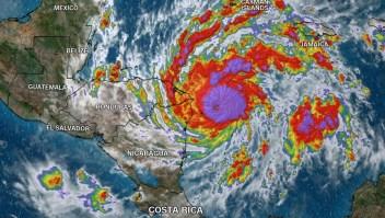 Eta se fortalece camino a Nicaragua