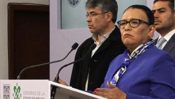 Rosa Icela Rodríguez será la secretaria de Seguridad, confirma AMLO