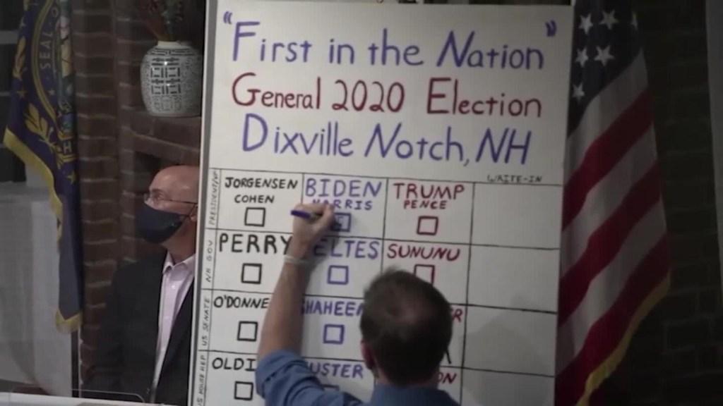 Dixville Notch ya conoce a su candidato más votado