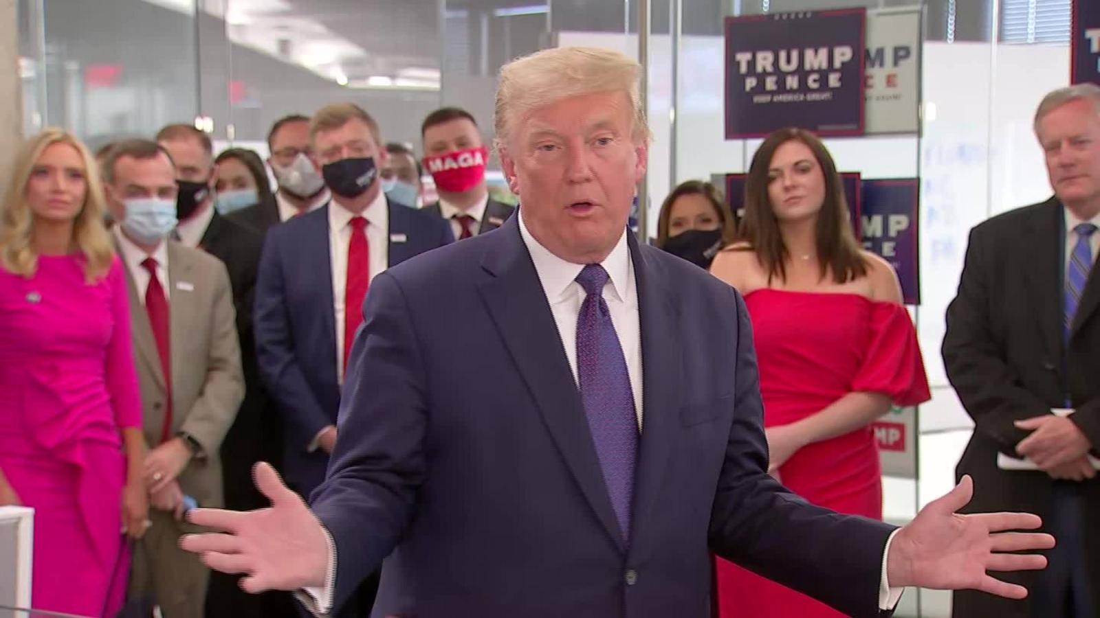 Donald Trump: Perder no es fácil para mí