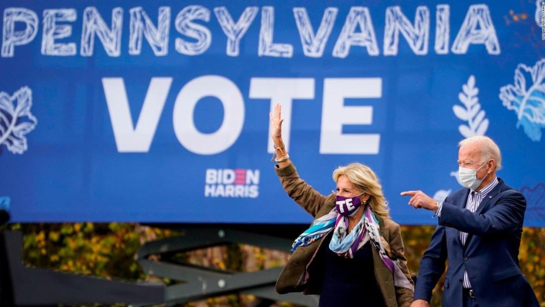 Demócratas, optimistas tras cierre de urnas en Pensilvania