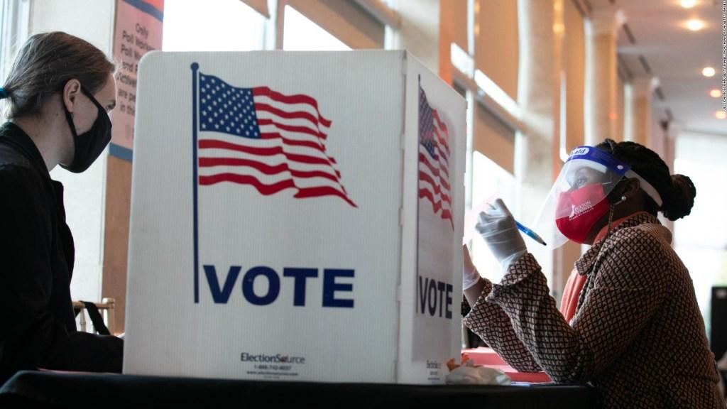 La influencia del voto de los negros en Georgia