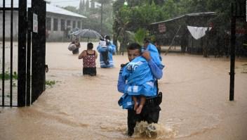 Alerta máxima en Honduras y Nicaragua por la tormenta Eta