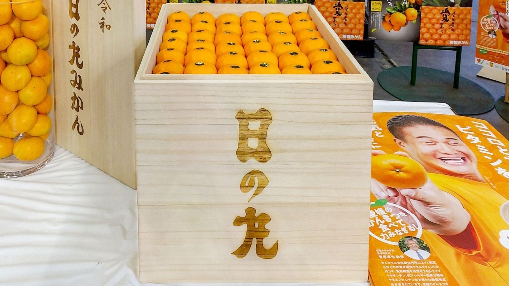 Pagan US$ 9.600 por 100 mandarinas exclusivas en Japón