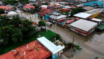 Tras azotar Centroamérica, Eta se enfila al Caribe