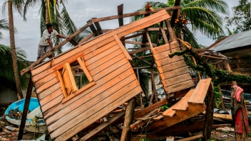 Eta deja estela de destrucción tras su paso por Nicaragua
