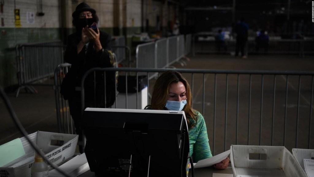 Pensilvania desestima demanda de Trump sobre conteo de votos