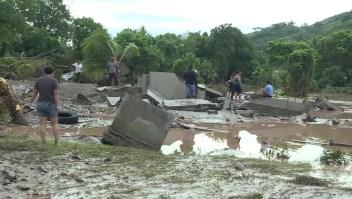 La desesperanza de los afectados por Eta en Honduras