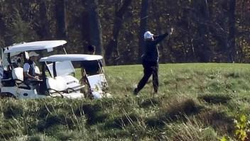 Trump jugaba golf mientras declaraban a Biden ganador