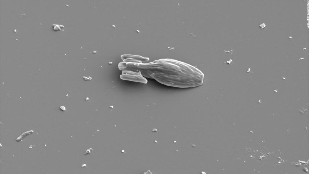 Replica microscópica y en 3D de una nave de Star Trek