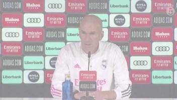 Zidane: Nosotros nos tenemos que adaptar a la situación