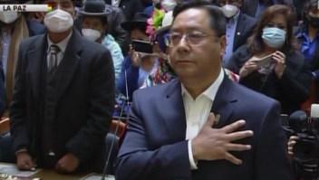 Juramentación de Luis Arce como nuevo presidente de Bolivia