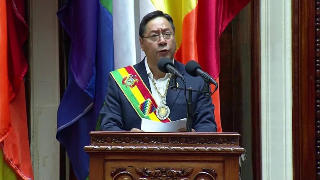 Así fue la posesión de Luis Arce Catacora en Bolivia