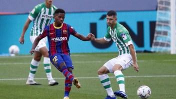 Ansu Fati deberá ser operado en el Barça