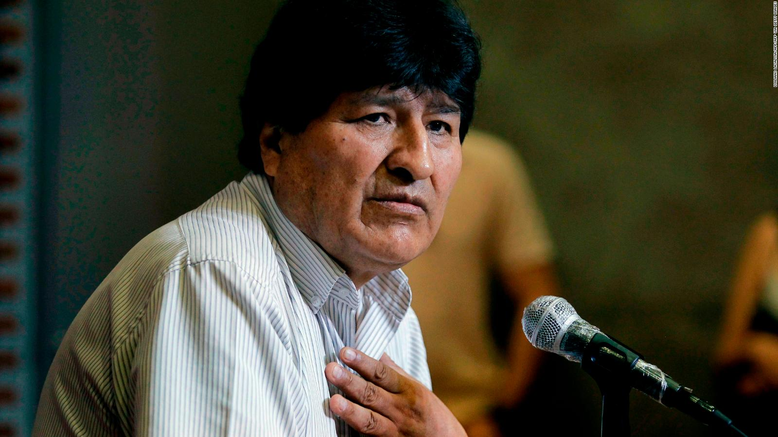 Evo Morales is discharged after covid-19 diagnosis