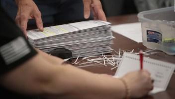 Recuento parcial de votos en Wisconsin por falta de fondos