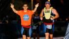 Atleta con síndrome de Down completa un triatlón