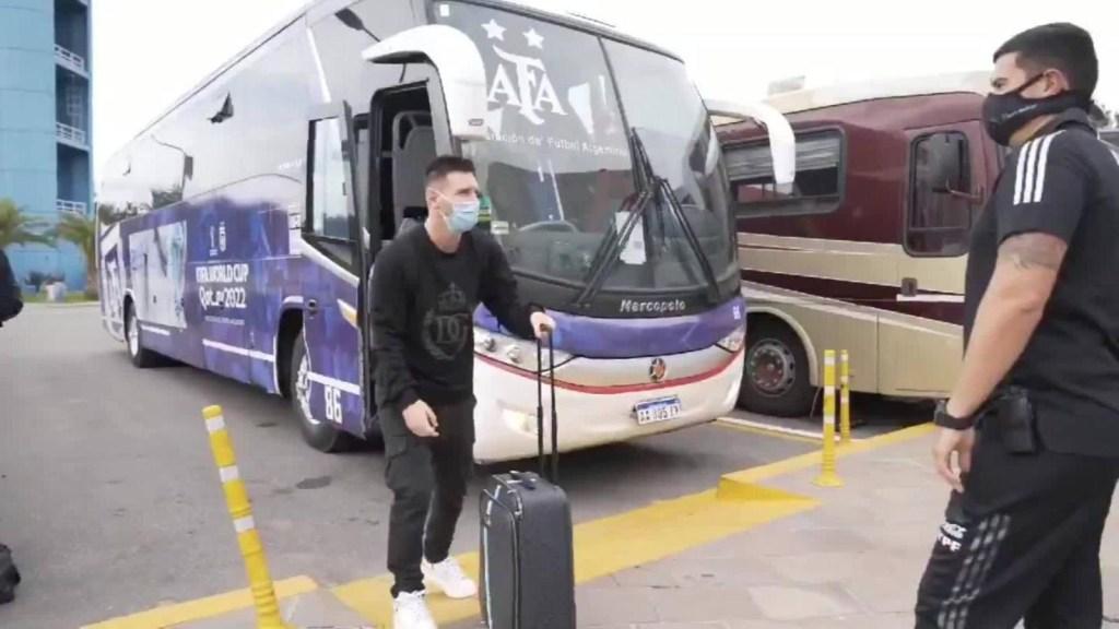 Messi, en Argentina para las eliminatorias mundialistas