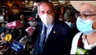 Agreden a congresista que votó por vacancia de Vizcarra