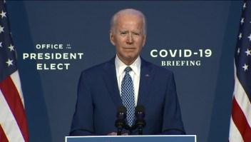 Así sería el primer día de Joe Biden en la Casa Blanca