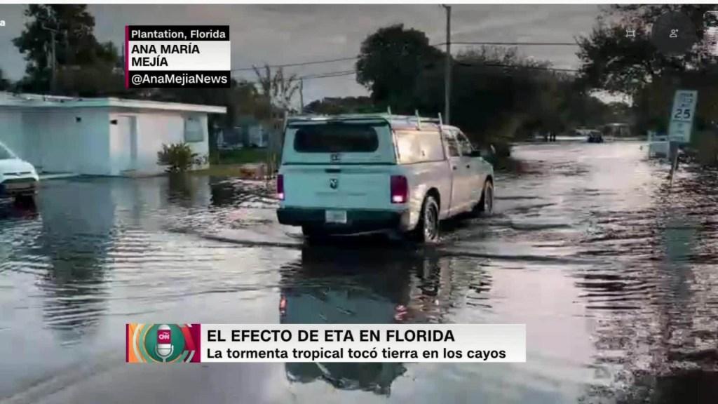 Inundaciones en Florida a causa de ETA
