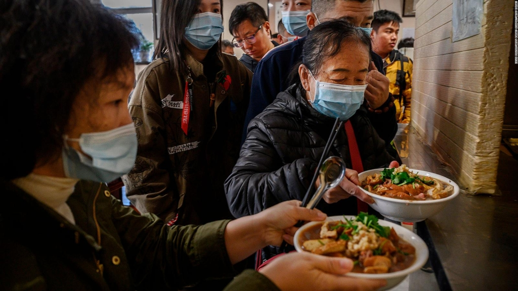Restaurante que visitó Biden en Beijing causa furor