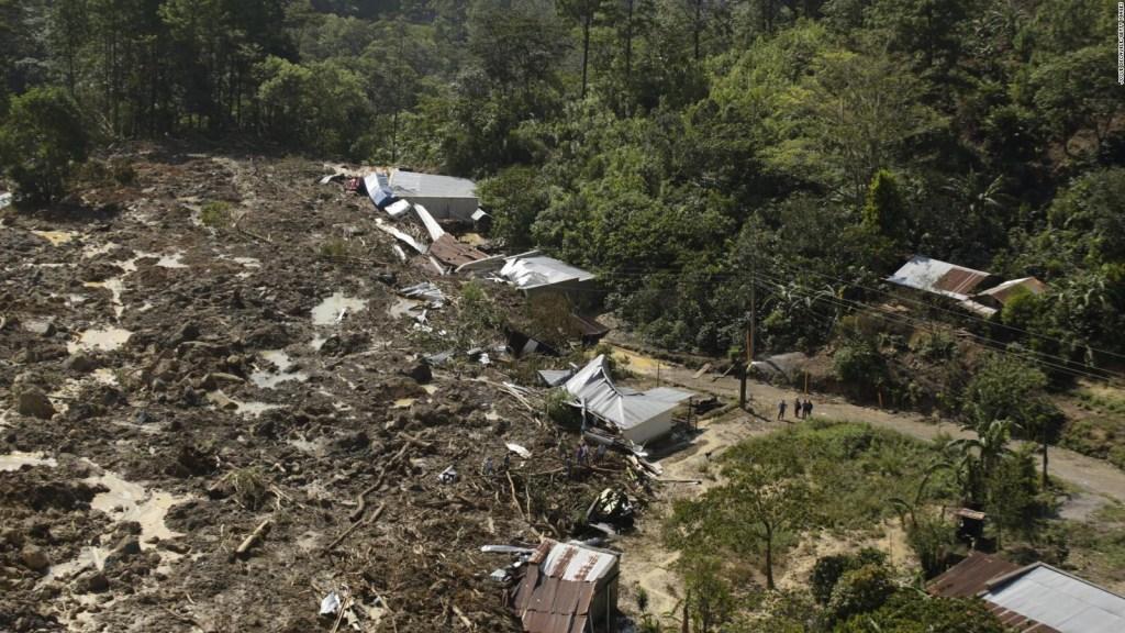 Eta deja desolación y también solidaridad en Guatemala