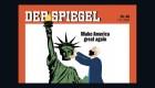 Revista repite portada de Trump después de la victoria de Biden