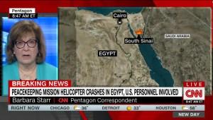Falla mecánica causa accidente de helicóptero en Egipto