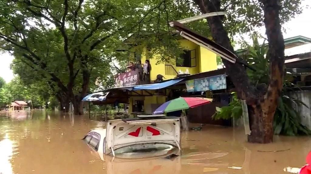 Tifón en Filipinas deja 6 muertos y 10 desaparecidos