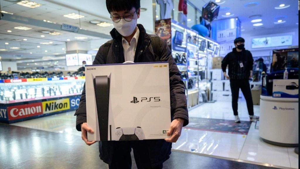 Dificultades para comprar la PS5 en EE.UU.
