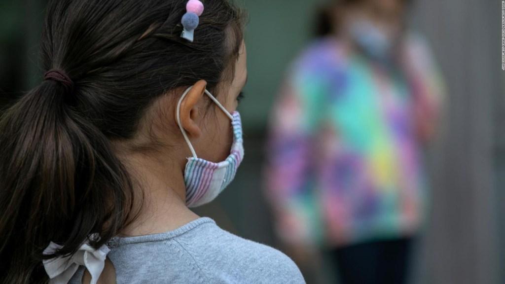 Los niños cada vez se contagian más de covid-19