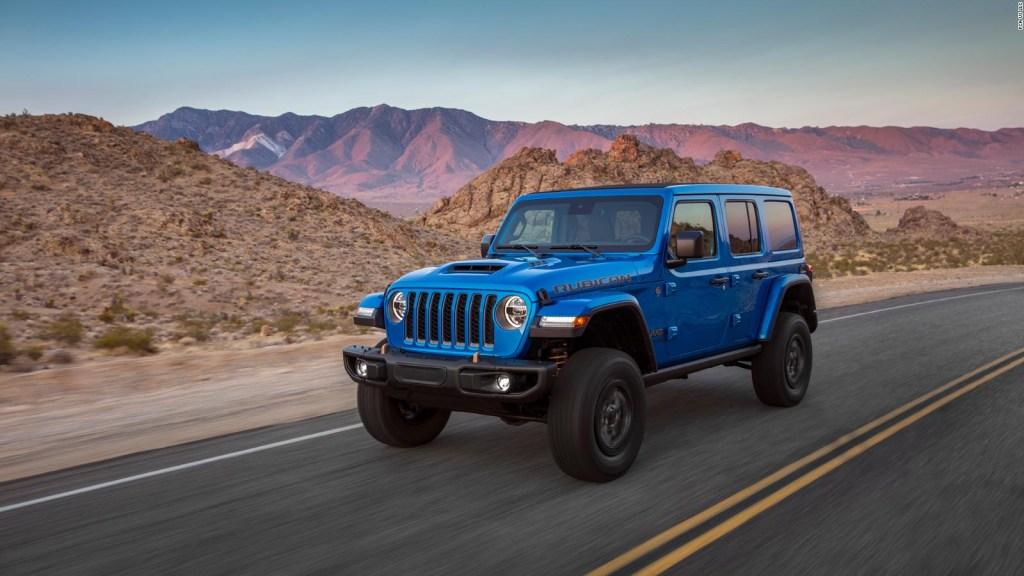 Este es el nuevo Jeep Wrangler Rubicon 392