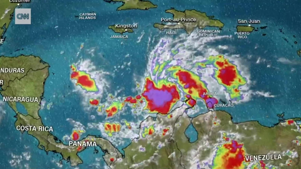 Esta será la trayectoria de Iota en el mar Caribe