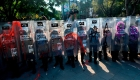 Funcionarios investigan incidente en protesta en Cancún