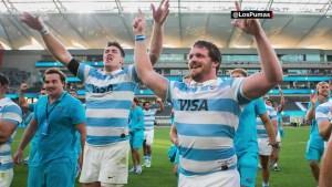 Rugby: la histórica hazaña de Los Pumas de Argentina