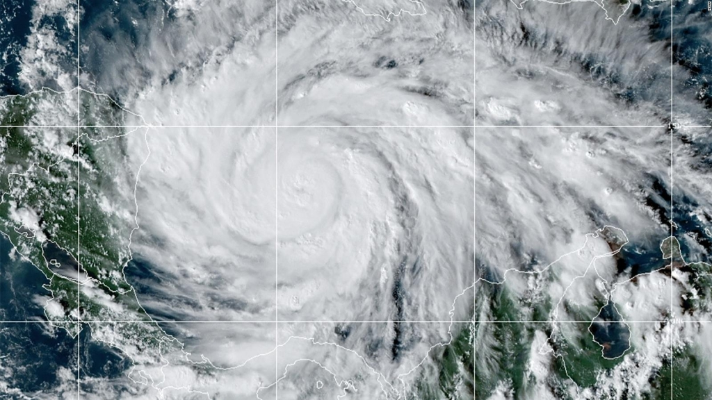 Nicaragua, Honduras y Guatemala, en peligro por Iota