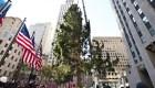 El árbol de navidad gigante del Rockefeller Center ya está en Nueva York