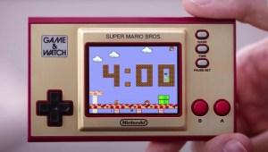 Nintendo revive su Game & Watch