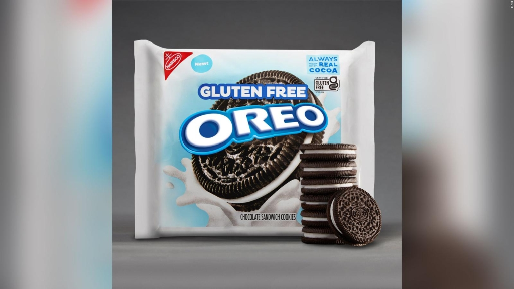 Oreos lanzará galletas sin gluten
