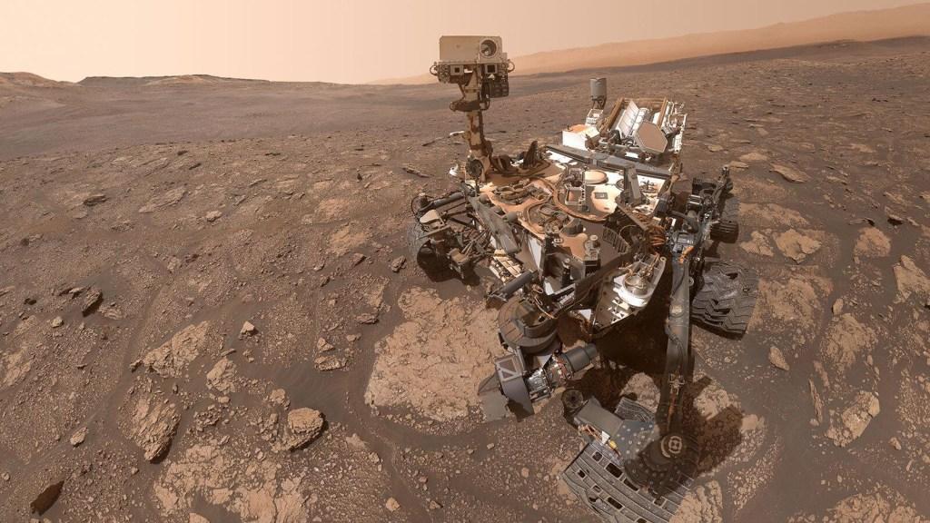 Curiosity de la NASA se toma una selfie en Marte