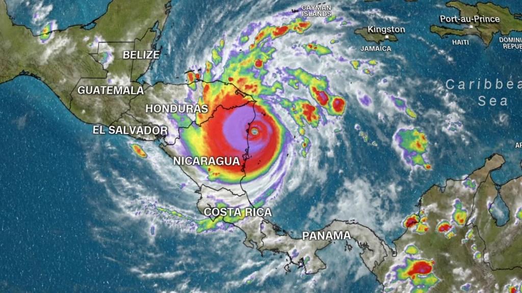 El azote catastrófico del huracán Iota en Centroamérica