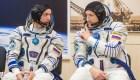 Los astronautas rusos realizan una gran caminata espacial