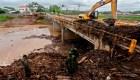 Iota avanza por Centroamérica con fuertes lluvias