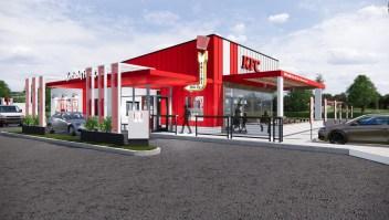 Así serán los KFC del futuro