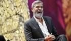 George Clooney habló sobre accidente en motocicleta
