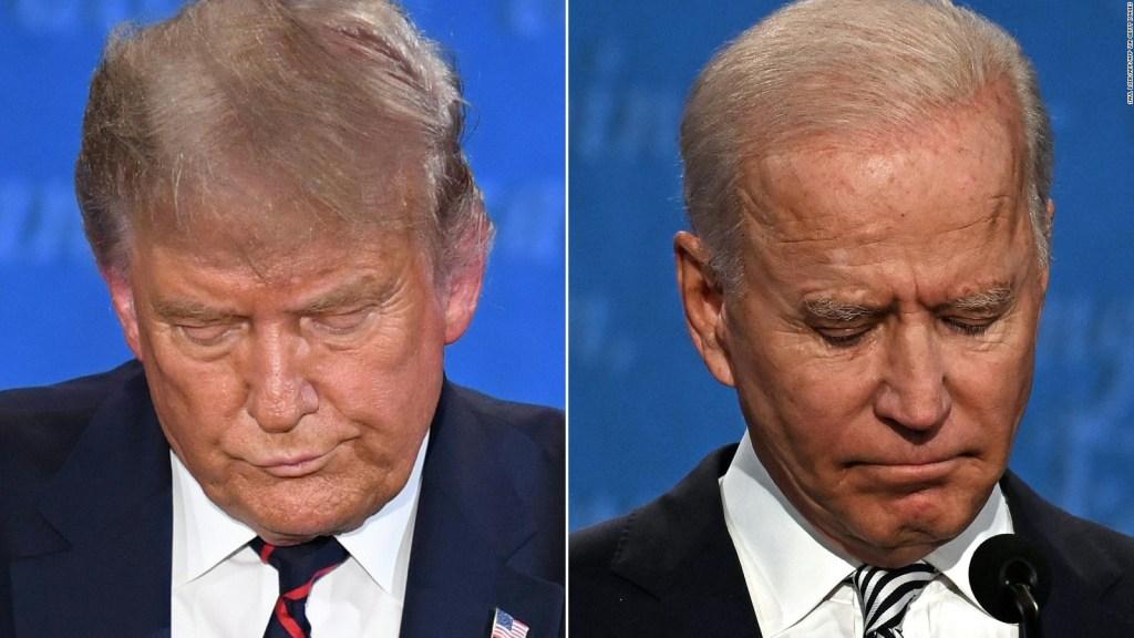 Los equipos de Biden y Trump, sin comunicación